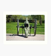 field cannon Art Print
