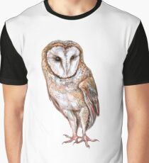Barn owl drawing Graphic T-Shirt
