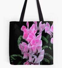 Pink Cyclamen Tote Bag