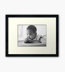My Daughter Framed Print