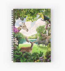 """Cuaderno de espiral """"El paraíso perdido"""""""