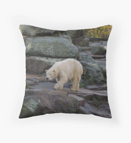 Big Bear Paws Throw Pillow