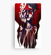 Too much noise in the circus Canvas Print