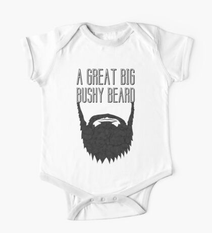A Great Big Bushy Beard! Kids Clothes