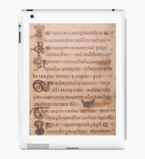 Page from the Book of Kells 2 iPad Case/Skin