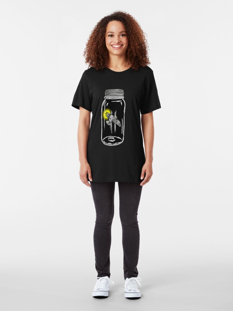 Alternate view of Unusual Firefly Slim Fit T-Shirt