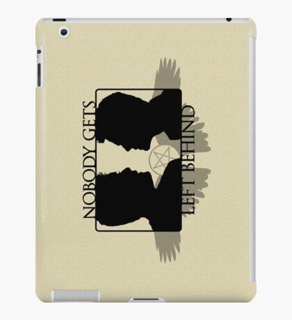 Nobody Gets Left Behind iPad Case/Skin