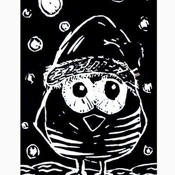 Christmas Bird by MonikaMony