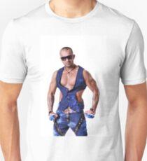 Muscular Male Torso T-Shirt