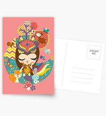 Deep in the forest - Nimi Collection Postcards