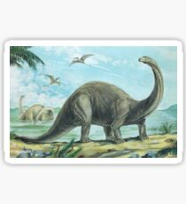 Brontosaurus Sticker