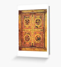 Page from the Book of Kells 3 Greeting Card