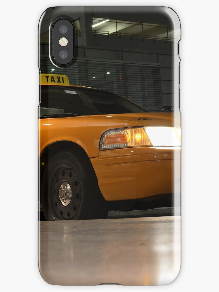 Yellow Cab | iPhone/iPod Case by Jeremy Lavender Photography