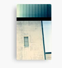 Industrial lines Canvas Print