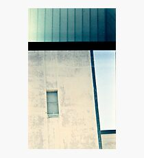 Industrial lines Photographic Print