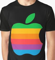 Retro Apple  Graphic T-Shirt