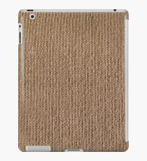 Simply knitted  iPad Case/Skin