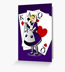 Twisted Tales - Alice in Wonderland Greeting Card