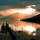 Lake Te Anau. South Island, New Zealand. (3) by Ralph de Zilva