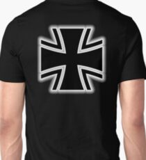Germany, German, Iron Cross, Federal Defence, Bundeswehr Kreuz, Black T-Shirt