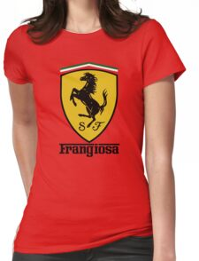 Frangiosa Ferrari Womens Fitted T-Shirt