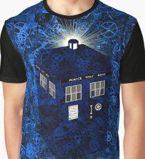 TARDIS Illustrated- Clockwork Graphic T-Shirt
