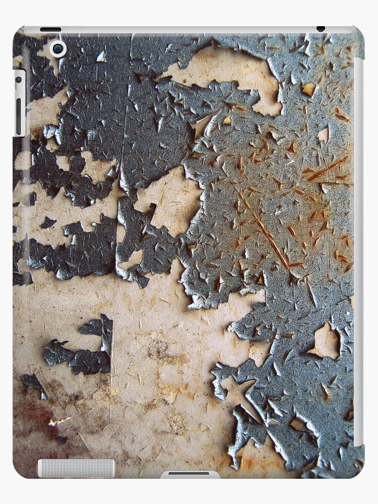 Paint Peeling ipad case by Vanessa Barklay