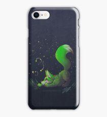 Firefly Fox - Green iPhone Case/Skin