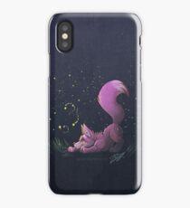 Firefly Fox - Pink iPhone Case/Skin