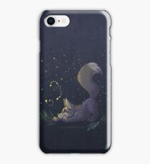 Firefly Fox - Grey iPhone Case/Skin