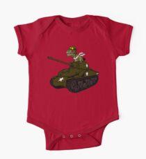T-Rex in a Tank Kids Clothes