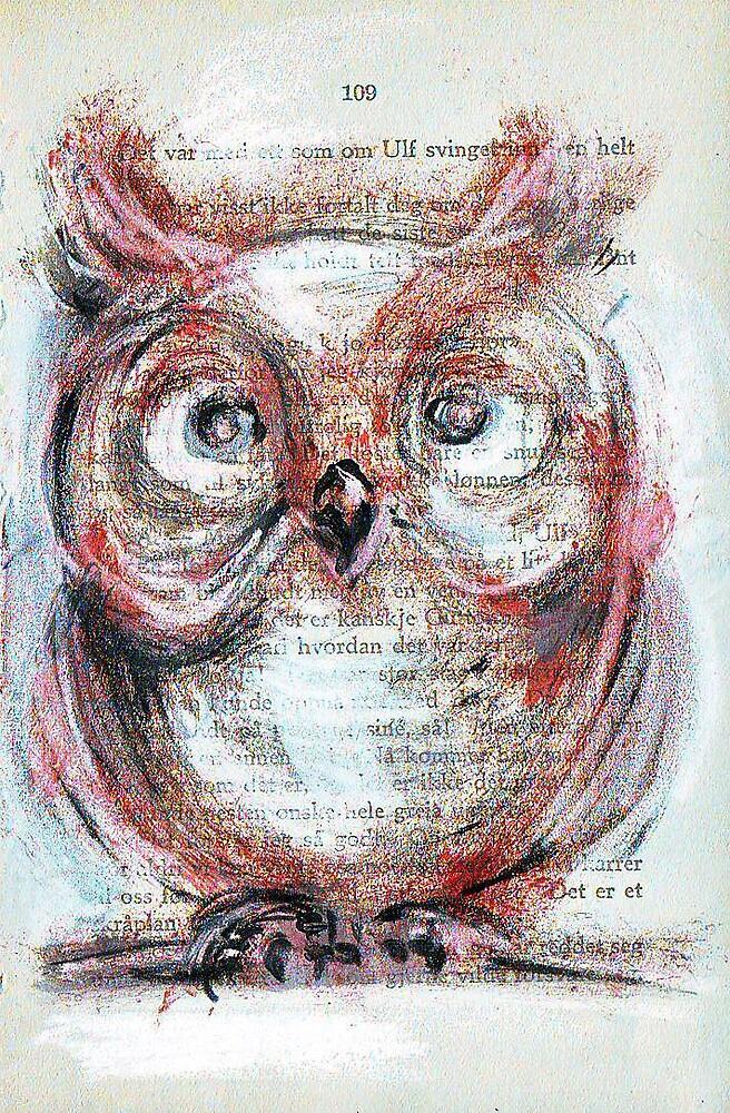 """Owl"" by Tatjana Larina"