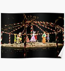 Nine Ladies Dancing Poster