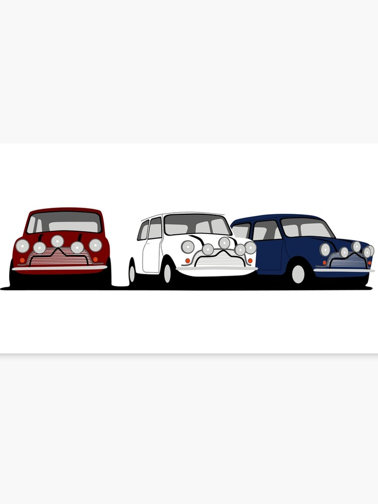 Classic Mini Cooper S The Italian Job Canvas Print By