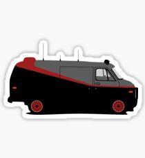 GMC A Team Van Sticker