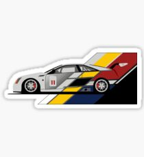 Cadillac CTS V Coupe Race Car Sticker