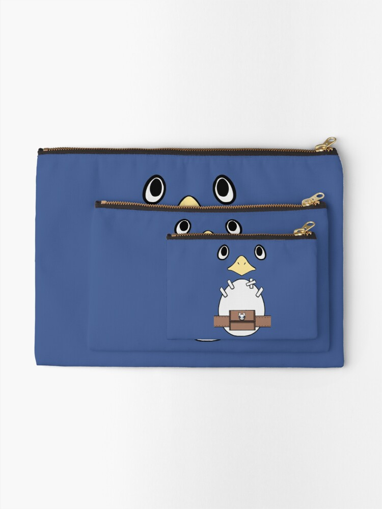 Alternate view of Be a Prinny, Dood! Zipper Pouch