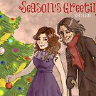 Rumbelle Greetings by tonksiford