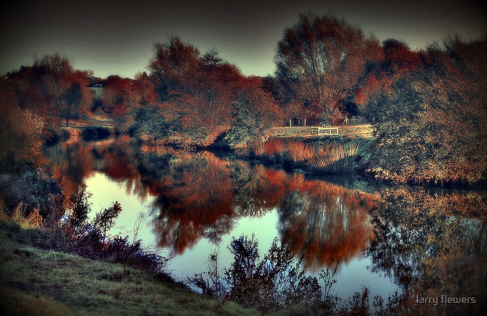An Autumn afternoon at Teston  by larry flewers