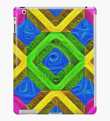 #DeepDream Color Squares Visual Areas 5x5K v1448364075 iPad Case/Skin