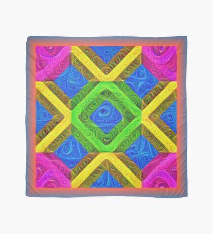 #DeepDream Color Squares Visual Areas 5x5K v1448364075 Scarf