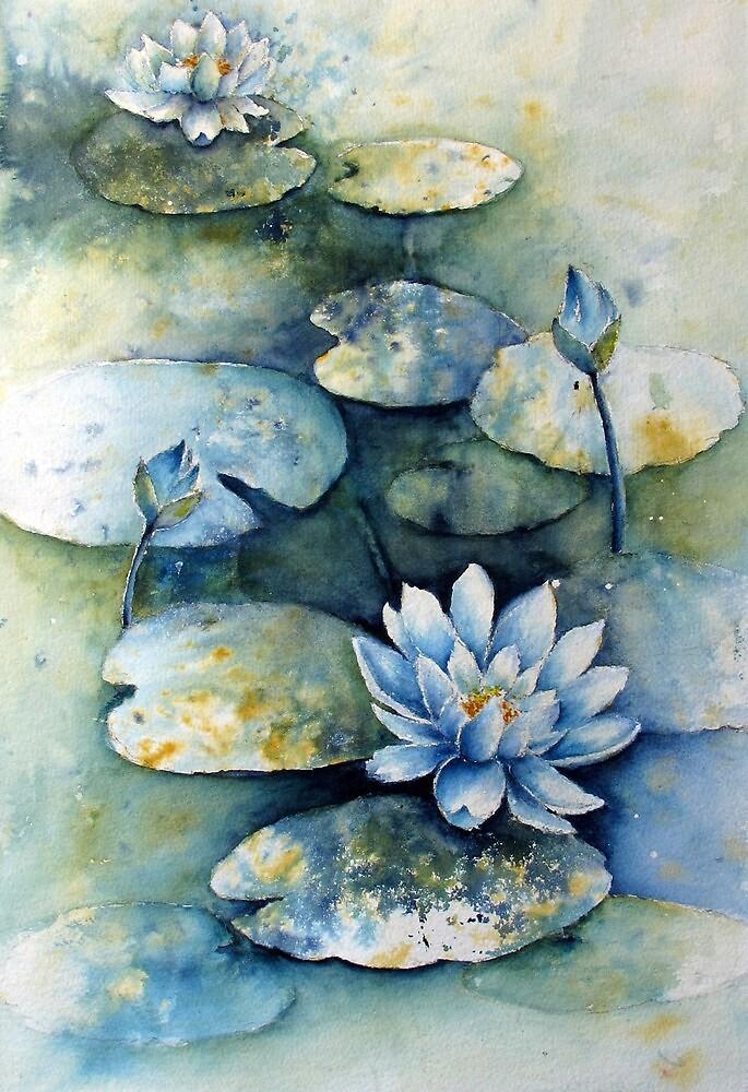 Water Lily by Sampa Bhakta
