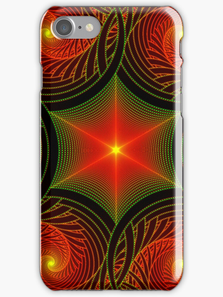Centered and At Peace iPhone Case by Georgia Wild