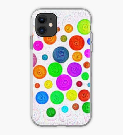 #DeepDream Color Circles Visual Areas 5x5K v1448374069 iPhone Case