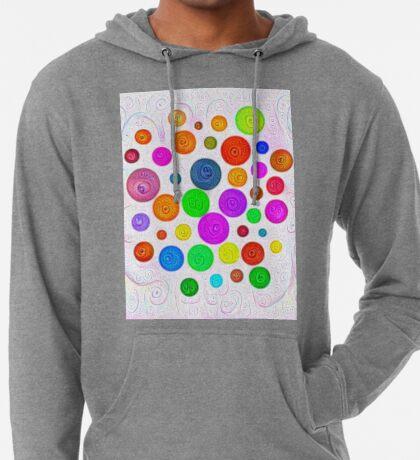 #DeepDream Color Circles Visual Areas 5x5K v1448374069 Lightweight Hoodie
