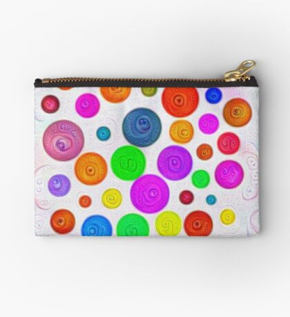 #DeepDream Color Circles Visual Areas 5x5K v1448374069 Zipper Pouch