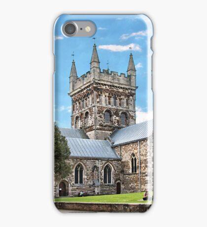 Wimborne Minster. iPhone Case/Skin