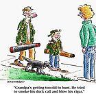 Cartoon: Grandpa's too old... by BruceCochran