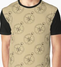 Pattern with compasses Graphic T-Shirt