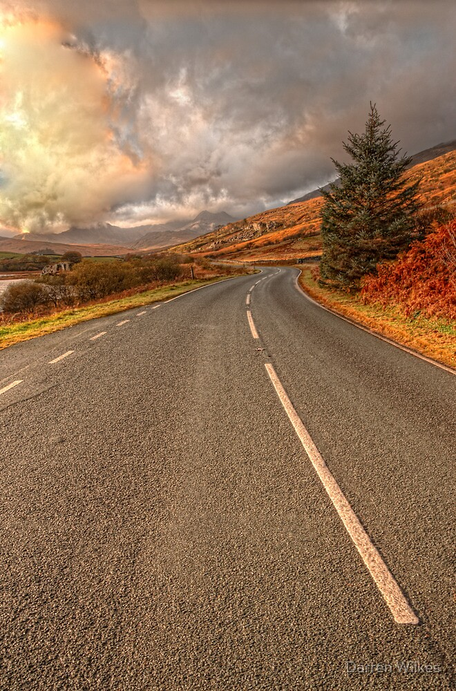 Road Of Colours by Darren Wilkes